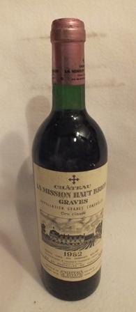 Chateau La Mission Haut Brion 1982 Graves cru classe, 1 bottle