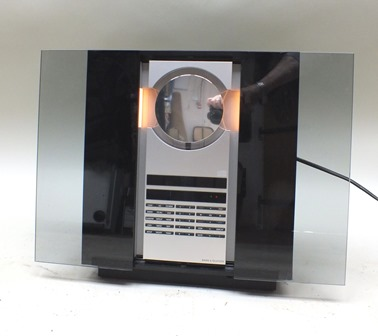 A Bang & Olufsen Beosound 3200 CD player and radio, 31cm wide