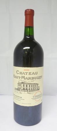 CHATEAU HAUT-MARBUZET 2000 Saint-Estephe, 1 x