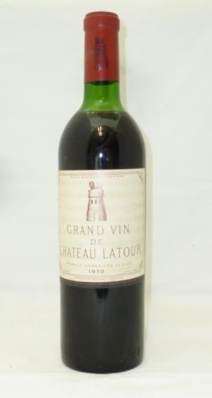 CHATEAU LATOUR 1970 1er Grand Cru Classe (Par