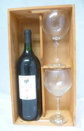 CABERNET SAUVIGNON 1997 Vin de Pays dOc, 1 ma