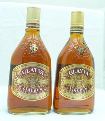 GLAYVA WHISKY LIQUEUR 35% volume, 2 x litre b