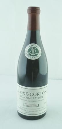 ALOXE-CORTON DOMAINE LATOUR 1996 AC Louis Lat
