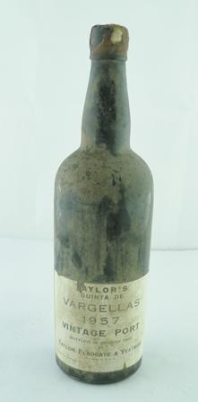 TAYLORS QUINTA DE VARGELLAS 1957 vintage port