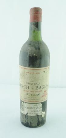 GRAND VIN DE CHATEAU LYNCH BAGES 1945 Grand C