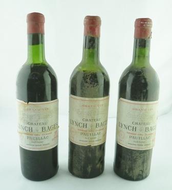 GRAND VIN DE CHATEAU LYNCH BAGES 1961 Grand C