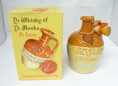 YE WHISKY OF YE MONKS Deluxe Scotch Whisky by