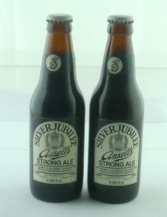 ANSELLS JUBILEE BEER, 2 bottles