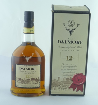DALMORE 12 year old Single Highland Malt Scot