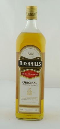 BUSHMILLS Original Irish Whiskey, 40%, 1 x li