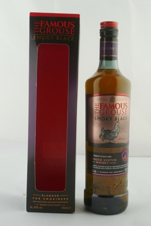 THE FAMOUS GROUSE SMOKY BLACK with Glenturret