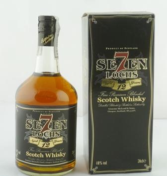 SE7EN LOCHS Fine Premium Blended Scotch Whisk