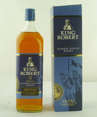KING ROBERT II Deluxe Blended Scotch Whisky,