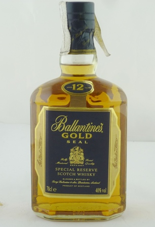 BALLANTINES GOLD SEAL Special Reserve Scotch