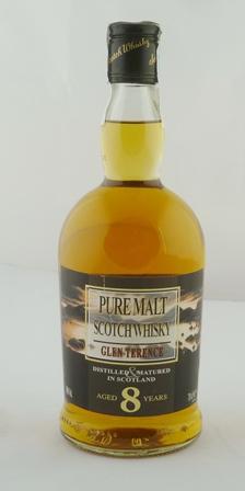 GLEN TERENCE Pure Malt Scotch Whisky, aged 8