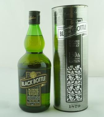 GORDON GRAHAM BLACK BOTTLE Blended Scotch Whi