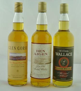 BEN AIGEN Fine Old Scotch Whisky, 40% vol, 1