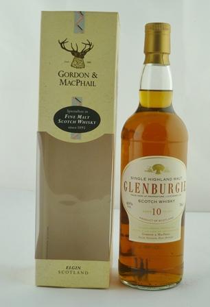GORDON & MACPHAIL GLENBURGIE Single Highland