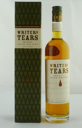 WRITERS TEARS Pot Still Irish Whiskey, 40% vo