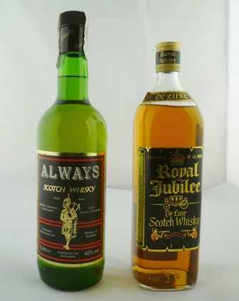 ROYAL JUBILEE Deluxe Scotch Whisky, 43% vol,
