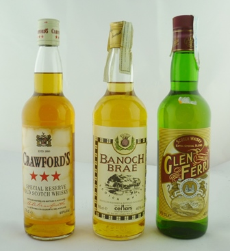 CRAWFORDS Special Reserve Old Scotch Whisky,