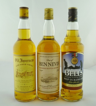 BEN NEVIS Blended Scotch Whisky, 40% vol., 1