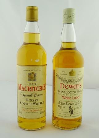 DEWARS WHITE LABEL Finest Scotch Whisky, 43.5