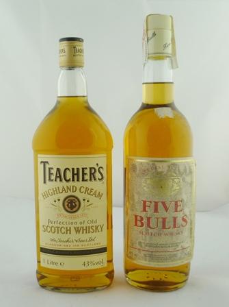 TEACHERS Highland Cream Scotch Whisky, 43% vo