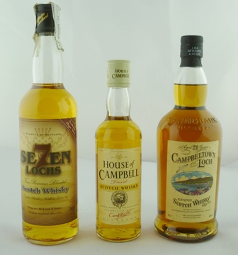 CAMPBELLTOWN LOCH Blended Scotch Whisky, aged