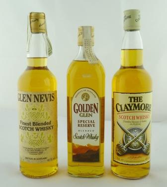 GLEN NEVIS Finest Blended Scotch Whisky, 40%