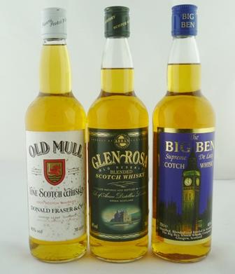 GLEN ROSA Old Reserve Blended Arran Scotch Wh