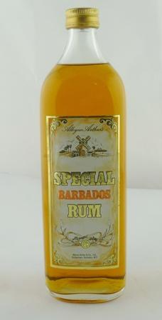ALLEYNE ARTHURS SPECIAL BARBADOS RUM, 1 x lit