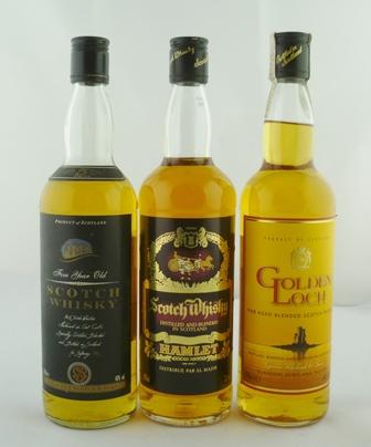 GOLDEN LOCH Fine Aged Blended Scotch Whisky,