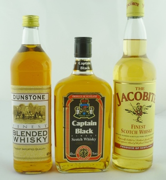 CAPTAIN BLACK Finest Scotch Whisky, 40% vol.,