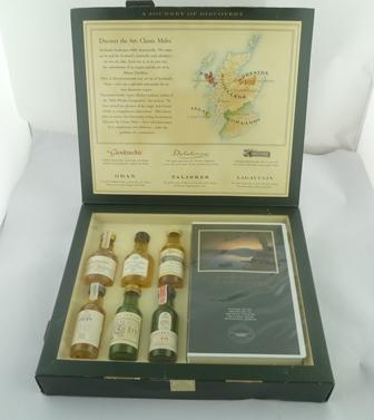 CLASSIC MALTS OF SCOTLAND, GLENKINCHIE, OBAN,