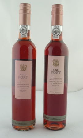 M & S PINK PORT, 19% vol., 2 x 50cl bottles