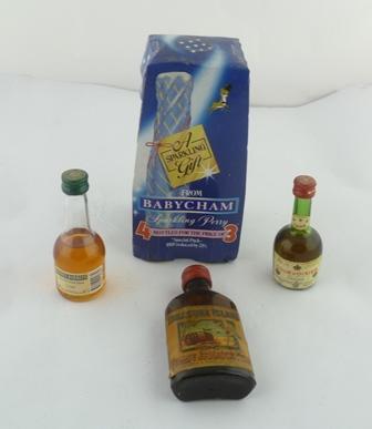 BABYCHAM, 4 x 100ml bottles, in outer packagi