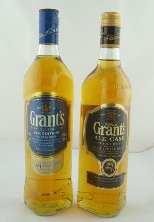 GRANTS Ale Cask Reserve Finest Scotch Whisky,
