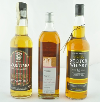 MARITIMO Club Sport Blended Scotch Whisky, 40