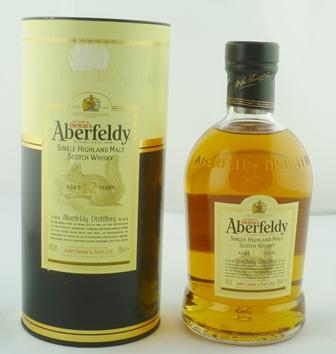 ABERFELDY Single Highland Malt Scotch Whisky,