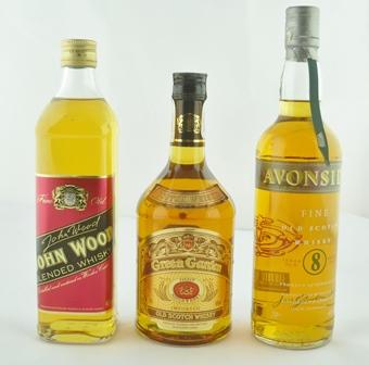 AVONSIDE Fine Old Scotch Whisky, Jas Gordon &