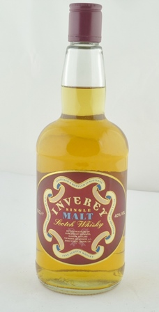 INVEREY Single Malt Scotch Whisky, bottled fo