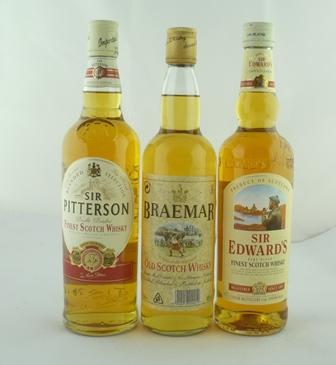 SIR PITTERSON Finest Scotch Whisky, 40% vol.,