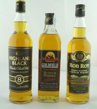 HIGHLAND BLACK Special Reserve Blended Scotch