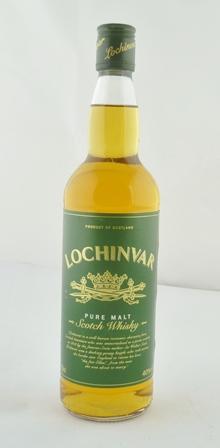 LOCHINVAR Pure Malt Scotch Whisky, 40% vol.,
