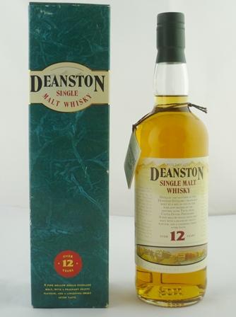 DEANSTON Single Malt Whisky, aged 12 years, 4