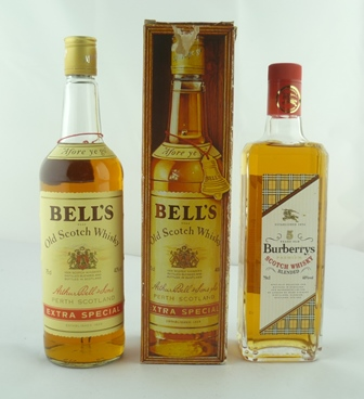BURBERRYS Premium Scotch Whisky, aged 5 years