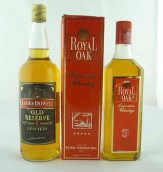 JAMES DOWELL Old Reserve Scotch Whisky, 40% v