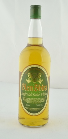 GLEN SHIRA Single Malt Scotch Whisky, 40% vol