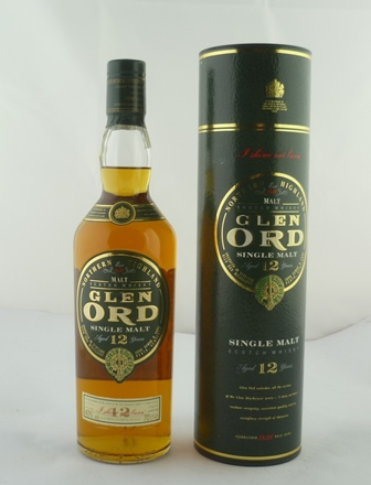 GLEN ORD Northern Highland Single Malt Scotch